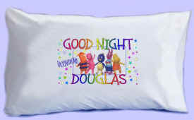 "The BACKYARDIGANS say ""GOOD NIGHT"" Pillowcase"
