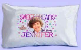 "HARRY says ""SWEET DREAMS"" Pillowcase"