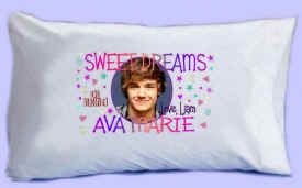 "LIAM says ""SWEET DREAMS"" Pillowcase"