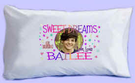 "LOUIS says ""SWEET DREAMS"" Pillowcase"