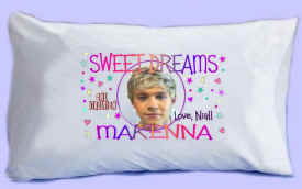 "NIALL says ""SWEET DREAMS"" Pillowcase"
