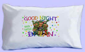 "The NINJA TURTLES say ""GOOD NIGHT"" Pillowcase"