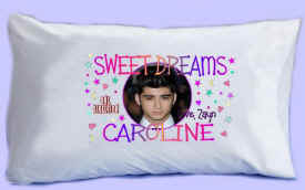 "ZAYN says ""SWEET DREAMS"" Pillowcase"
