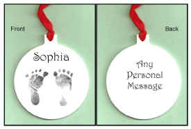 Baby footprint prnament.jpg (47462 bytes)