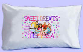 "The Fresh Beat Band says ""SWEET DREAMS"" Pillowcase"
